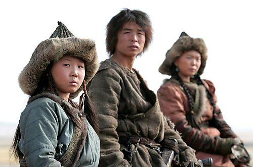 Mongol-kid