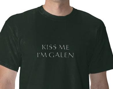 'KISS ME I'M GALEN' @ zazzle.com