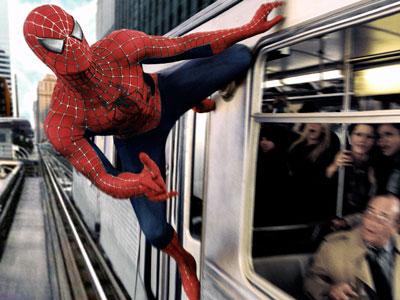 Spiderman2-train